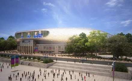 Футбольный стадион «Динамо» планируют достроить к концу апреля