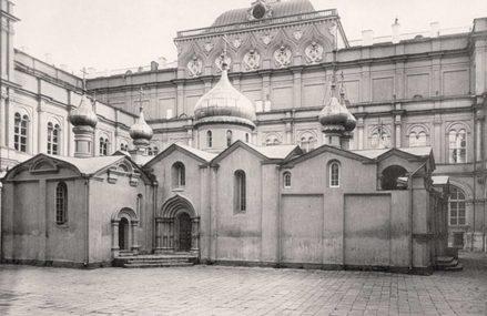 Самое древнее здание Москвы на фото