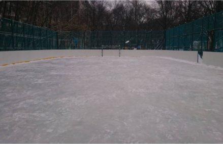В Вешняках продолжают свою работу катки с естественным льдом
