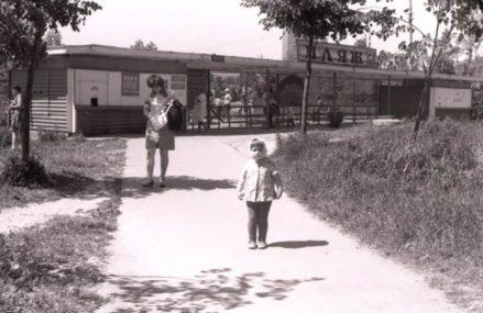 Вход в Измайловский пляж (1977)