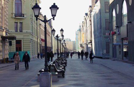 10 пешеходных улиц Москвы