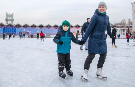 Первый открытый турнир по картингу на льду «Разрушители льда»