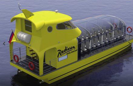 Весной по Москве-реке начнут курсировать 10 речных кабриолетов