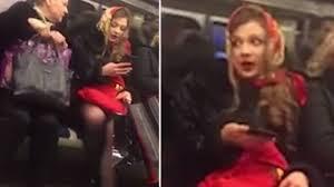 Видео: «богиня» из Новокосино рассмешила до слез пассажиров московского метро