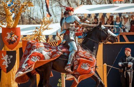 4-й Рыцарский Турнир Святого Георгия в Коломенском