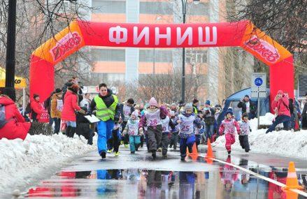 Соревнования по кроссовому и лыжному бегу в Измайловском Парке