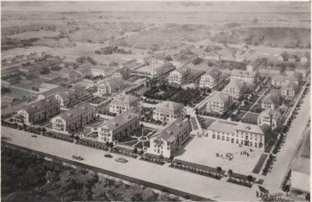 Жилой городок Главнефтегазстроя 1946 — 1947 г.