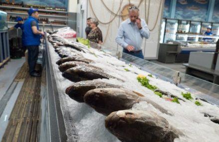 В столице открылся фестиваль «Рыбная неделя», который будет проходить до 27 мая.