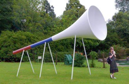 К ЧМ-2018 в парке Сокольники появится гигантская вувузела