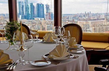 ТОП-19 панорамных ресторанов Москвы