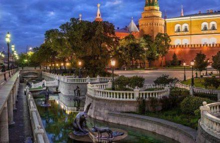Александровский сад в Москве. Три сада в память о войне 1812 года