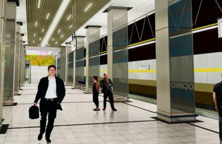 Строительство четырех станций Кожуховской линии метро Москвы завершат в 2018 г