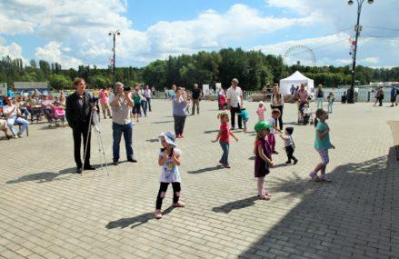 Благотворительный детский фестиваль «Семья каждому» в Измайловском Парке