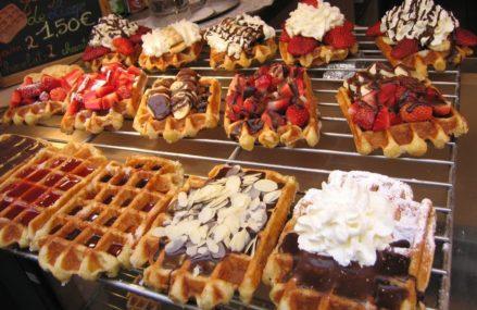 7 московских мест, где пекут настоящие бельгийские вафли