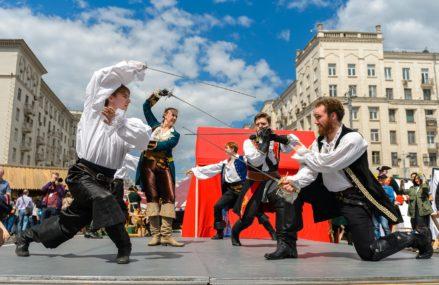Москва станет местом проведения зрелищного исторического фестиваля «Времена и Эпохи»