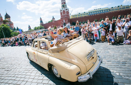 Ралли советских автомобилей пройдет 21 июля в Москве