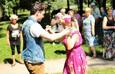 Танцевальные вечера в Измайловском Парке