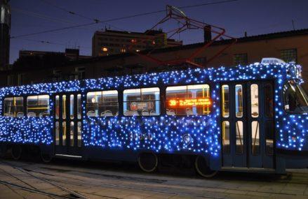 В День московского транспорта на маршрут выйдет праздничный трамвай