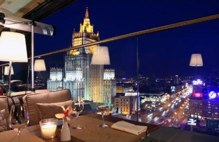 Самые интересные места на крышах Москвы