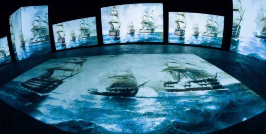 Выставка «Айвазовский — ожившие полотна» в креативном пространстве «Люмьер-Холл»