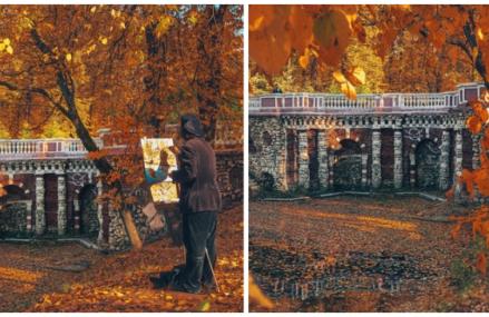 Грот Растрелли в Лефортовском парке