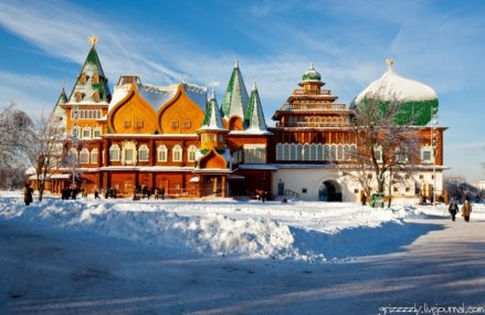Музей-заповедник «Коломенское» зимой