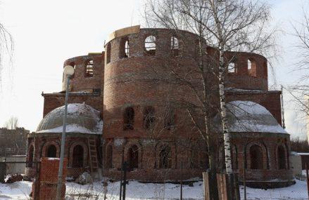 Конструктив храма в Гольяново будет завершен в этом году