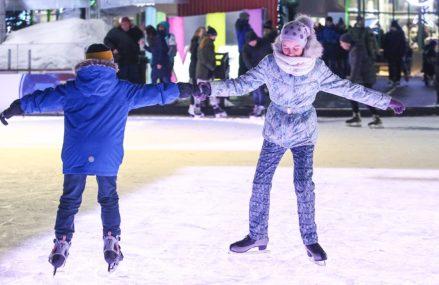 Станцевать на льду под рок-н-ролл, джаз и диско: в каких парках пройдет ежегодная акция «Ночь на катке»
