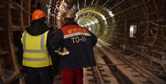 Построен второй тоннель между станциями «Рубцовская» и «Стромынка» БКЛ