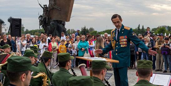 Стали известны парки, где этим летом зазвучит музыка военных оркестров — участников фестиваля «Спасская башня»