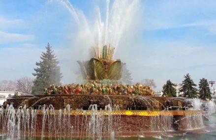 Результат реставрации знаменитого фонтана «Каменный цветок» на ВДНХ удивил москвичей.