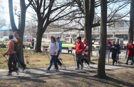 4 апреля в Измайловском Парке состоится спортивное мероприятие «Скандинавская ходьба»