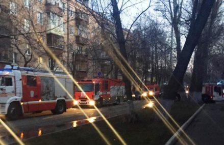 Как ликвидировали пожар на востоке Москвы
