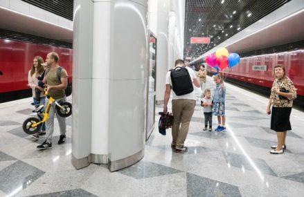 Участок Некрасовской линии откроют в начале июня