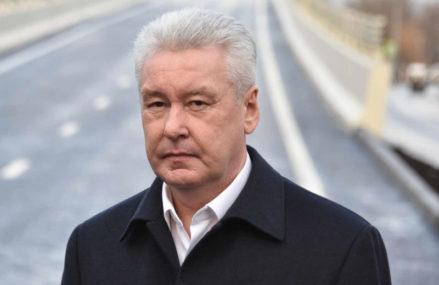 Собянин открыл новую автодорогу в районе Метрогородка