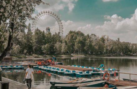 Прогулочный маршрут по Измайловскому парку