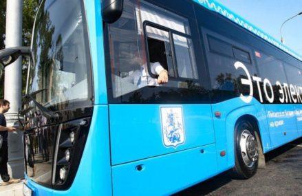 На востоке столицы запустили еще один маршрут электробуса