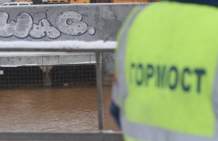 Канал имени Москвы в районе Тушинского тоннеля снова дал течь