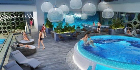 В Лужниках откроется огромный аквапарк с экстремальными горками, 3-мя бассейнами и релакс-зоной
