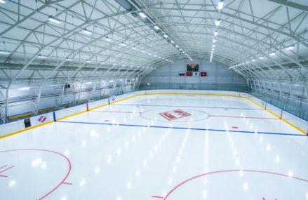 В парке «Сокольники» начал работать хоккейный комплекс «Академия «Спартак»