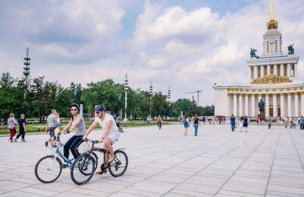 Москвичи смогут отпраздновать увлекательной велоэкскурсией в парках День без автомобиля