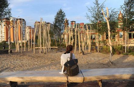 Новые благоустроенные зоны отдыха в Косино-Ухтомском районе