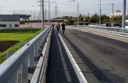 Эстакаду над путями МЦК в районе Перово откроют в начале 2020 года