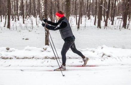 Всепогодная лыжная трасса открылась в одном из парков ВАО