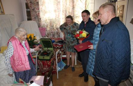 Жительница района Новокосино отметила столетний юбилей