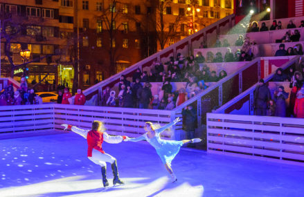 Бесплатный большой каток площадью более 1600 квадратных метров появится на Тверской площади