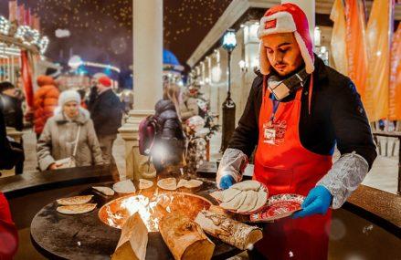 Енисейская стерлядь, греческий пирог и швейцарский раклет: что попробовать на фестивале «Путешествие в Рождество»