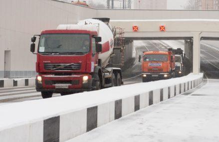 С 1 февраля «грузовой каркас» вводят еще в двух округах Москвы