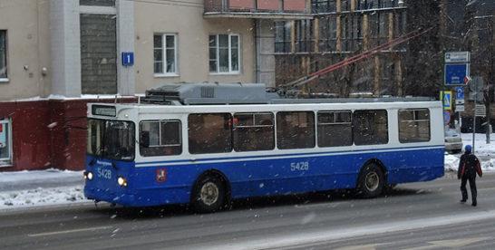 Названы предварительные сроки ликвидации троллейбусного движения в Москве