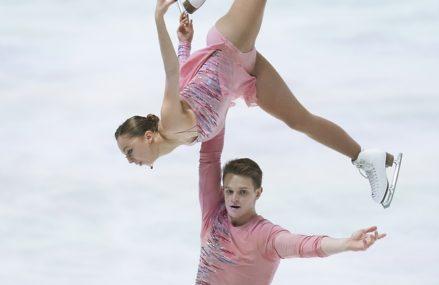 Российские фигуристы заняли весь пьедестал в парном катании на чемпионате Европы
